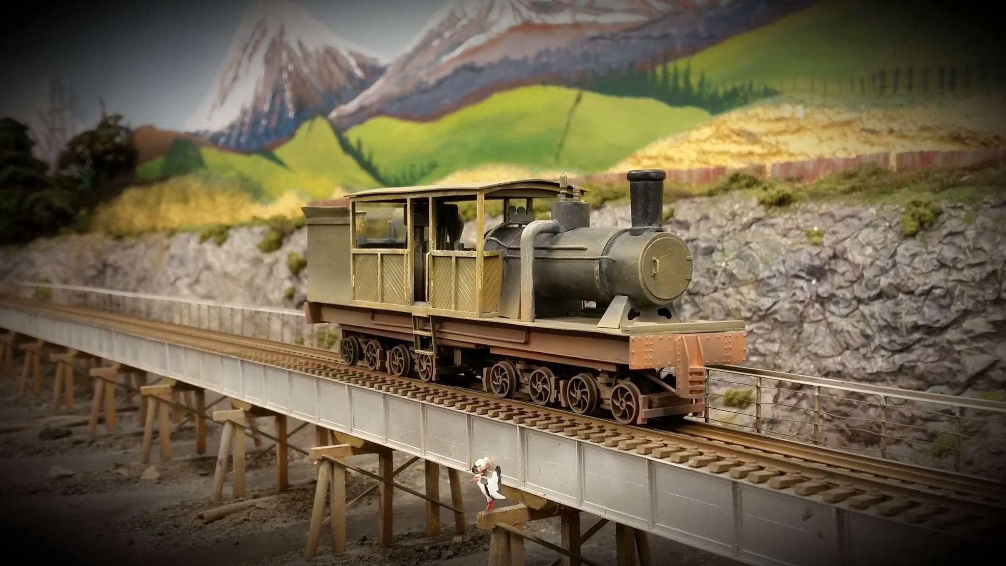 Johnson 16 wheeler model
