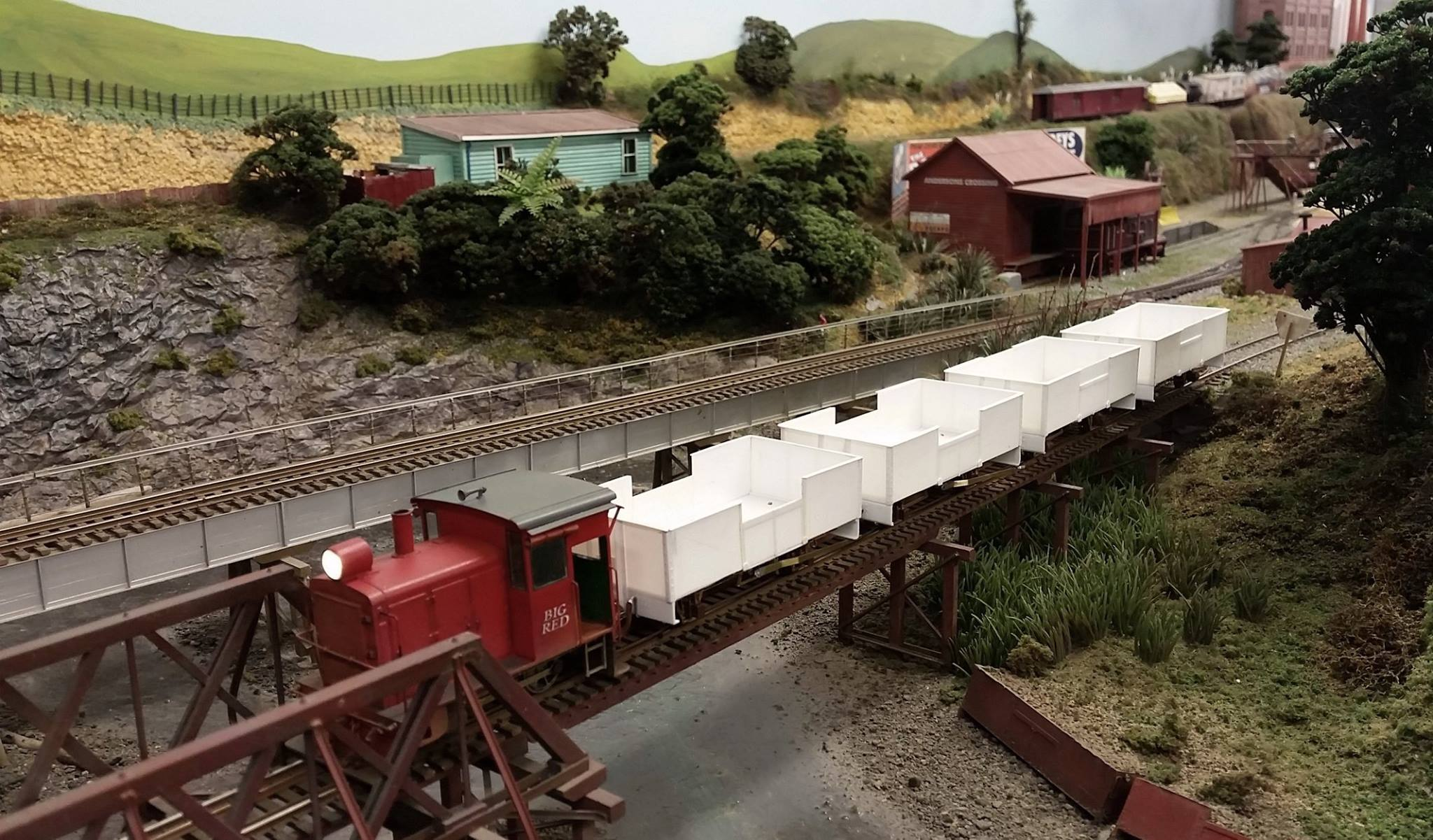 Construction of 4 x LA wagons